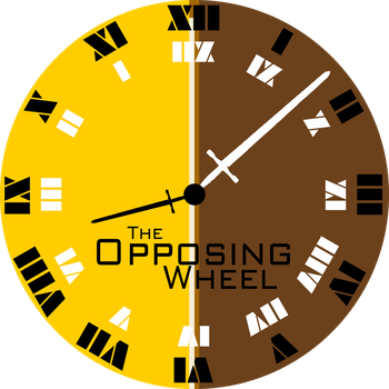 The Opposing Wheel Disc label by akkfigueira