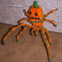 Pumpkin Spider Mini by the-gil-monster