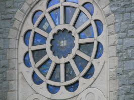 Stained Glass 02 by LithiumStock