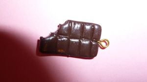 Fimo Chocolate Bar by MadameMalaki
