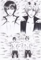Free! Fanfic Illust - PARADOX by RyourieGKomuro03