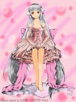 Chi CHOBITS Coloured by Steffid