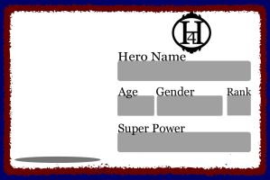 Hero for Hire Application by Halkheart