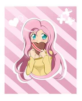 Fluttershy Special somepony by ZzVinniezZ