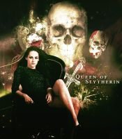Queen Of Slytherin by HestiaC