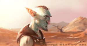 Gazing Goblin by G-manbg
