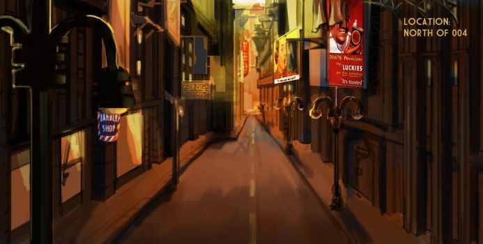 Environment paintover1 by Minochi