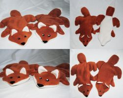Spelt Foxes by Gajia