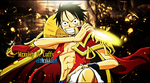 Luffy Signature by gustavo11s