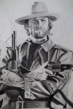 Clint Eastwood by DavidS65