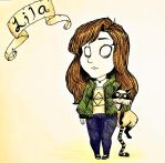 Don't Starve: Lila, the Filthy Casual by toasted-rupees3119