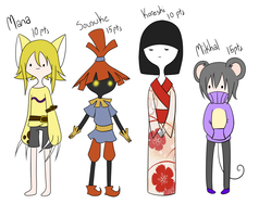 Advevnture Time Adoptables! by AskTheRabbitPrince