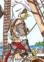 Edward Kenway by Elvatron