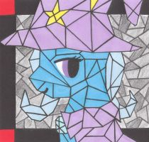 Great and Powerful Cubism by MoonlightScribe