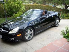 SL550 and me... pose 2 by SaMaster14