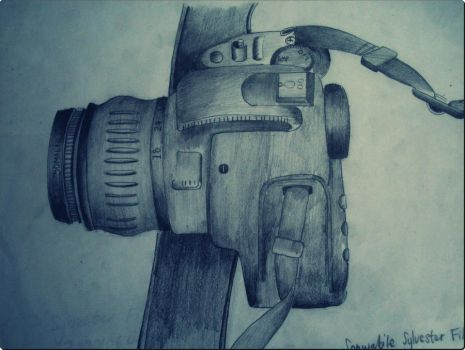 Camera Drawing by Vester01