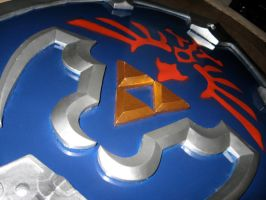LOZ: Hylian Shield by AllyCatastrophe