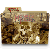 monkey island 1.1 folder by femfoyou