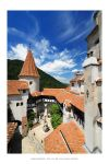 Bran Castle courtyard by DimensionSeven