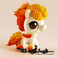 Ponyta from Pokemon custom LPS by thatg33kgirl