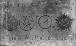 Supernatural - These Will Protect You by MageStiles