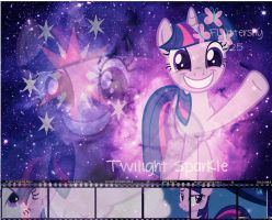 Twilight Sparkle Wallpaper by Fluttershy625