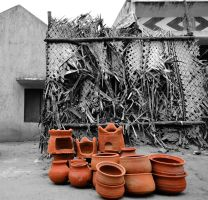 Pots in the front by yoge1993