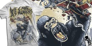 KINGKONG TERROR by bazzier