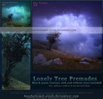 Lonely Tree Premade by kuschelirmel-stock
