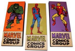 Marvel Corner Box Paintings by PLANETsTAtiC