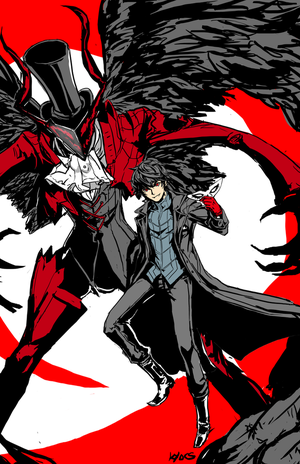 Persona 5 by kyocs
