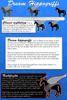 Dream Hippogriff Breed Sheet by BlueLadyAces