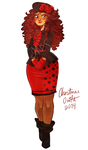Christmas Outfit by Ask-MsMexico