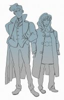 the doctor and donna by rikkitikki