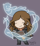 Commission - Hermione by DeanGrayson