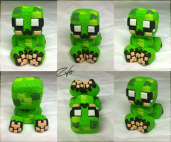 Creeper sculpture by krikdushi