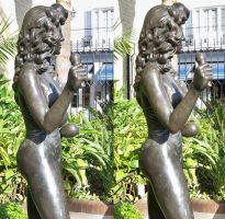 3d Busty Chris Owens Statue 5 cropped by 3dpinup