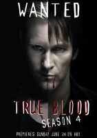 True Blood Season 4 Poster by Xfel13