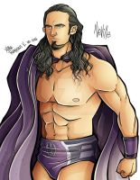 Neville WWE by XimeniSHA
