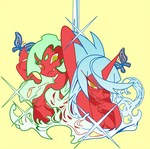 Scanty and Kneesocks by Kim-Mariet