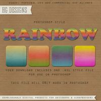 PS Style: RAINBOW by HGGraphicDesigns