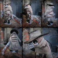 The Operator Plague Doctor Doll by bezzalair