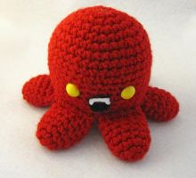 Vampire Octopus Amigurumi by egyptianruin