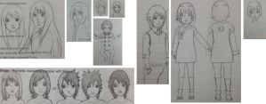 incompleted sketches!! by lymmny