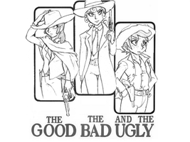 The Good the Bad and the Scootaloo by DJ-black-n-white