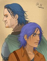Griff and Young Griff by Autumn-Sacura