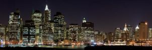 lower manhattan by sp1te