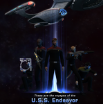 The Crew of the USS Endeavor by Viewer934