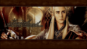 Thranduil Wallpaper by PrinceVoldy-TLK