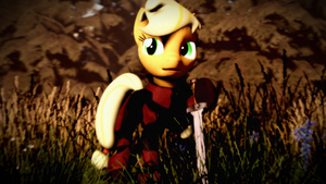 Applejack Knight by Longsword97